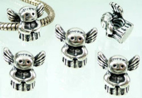 1 Bead silber Engel 05309