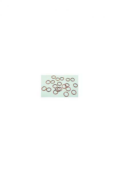 320 Zwischenringe alt kupfer 5mm Metall 02283