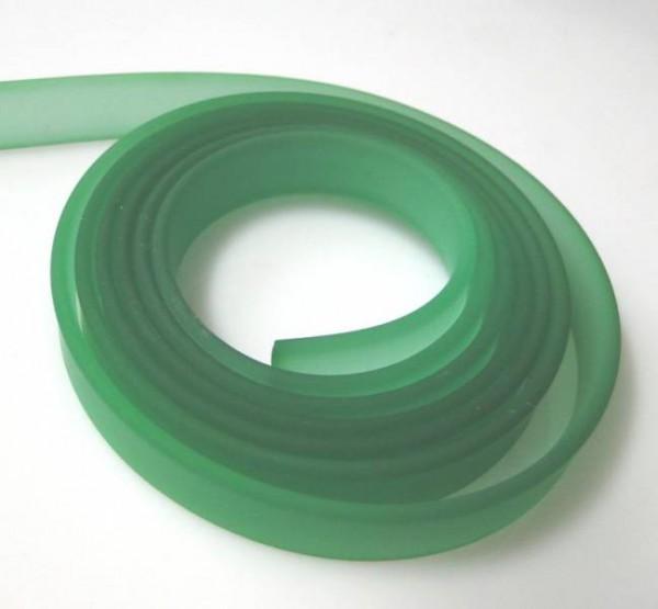1m Kautschukband - 10mm - grün 09