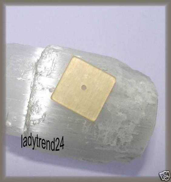 1 Polaris Quadrat Scheibe 16mm beige
