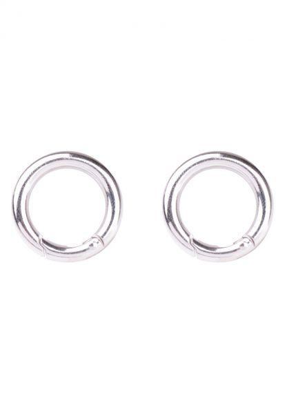 1 Ring Verschluss für Charms 18mm silber/platin 21483 Neu!