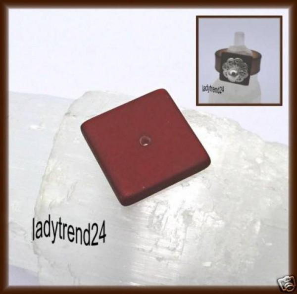 1 Polaris Quadrat Scheibe 16mm braun
