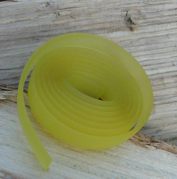 1m Kautschukband - 10mm - gelb 22