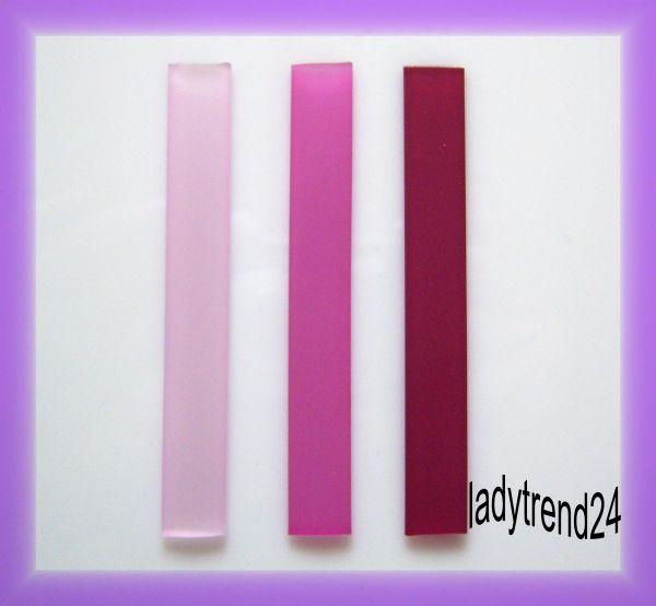 3 x 7,5cm Kautschukband - 10mm - Mix 111