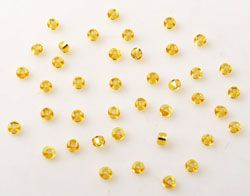 Rocailles 3mm 25g gold 2224