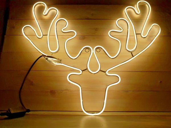 LED Elchgeweih Rentier Lichtschlauch für innen und außen SMD Technik