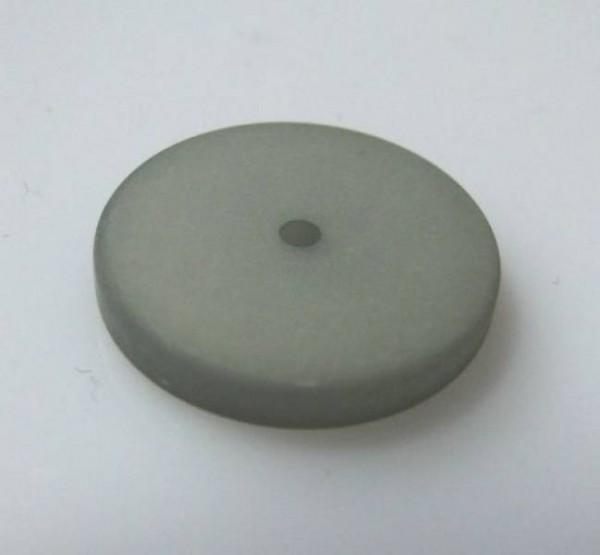 1 Polaris-Scheibe flach 16mm grau matt