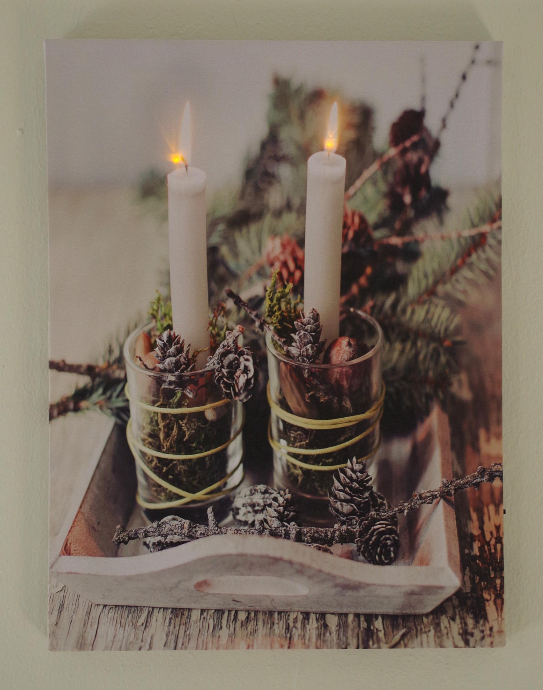 3er-Set-Bild-1 Stilvolle Warum Flackern Kerzen Im Glas Dekorationen