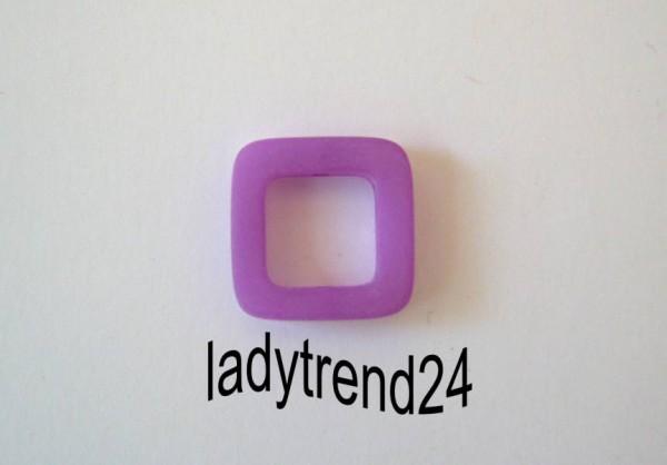 1 Polaris Quadrat 20x20mm amethyst matt