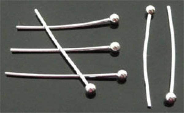 50 Nietstifte silber 40mm 06367