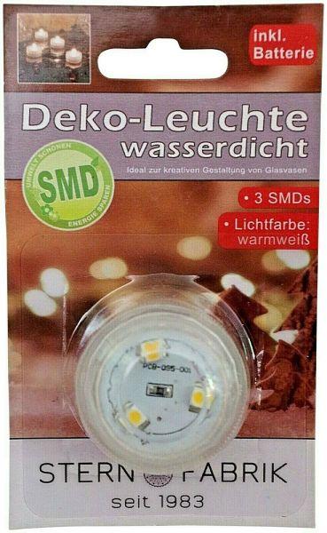 Unterwasser Teelicht mit 3 SMD warmweiß
