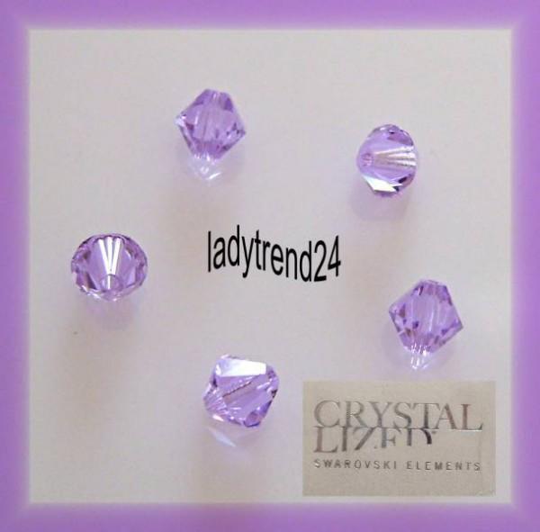 1 Original Swarovski Kristalle 6mm violet 371