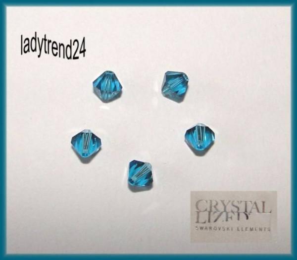 1 Original Swarovski Kristalle 6mm indicolite