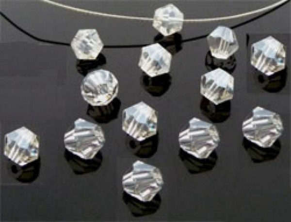 50 Kristallperlen 4mm bicone kristall 4790