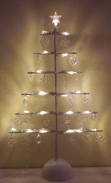 LED-Lichtbaum-Lichterkette-Batterie-Acryl-Stern-Herz-Engel-Baum-Fensterbaum LED-Lichtbaum-Licht