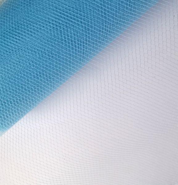 """1m Tüll blau / transparent 15cm breit für Glücksfee """"Smilla"""""""