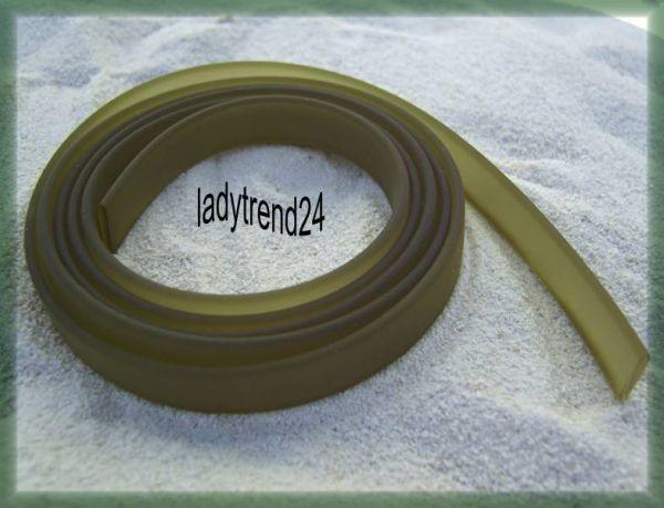 1m Kautschukband - 10mm - oliv 11