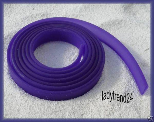 1m Kautschukband - 10mm - lila 1892
