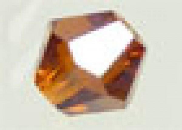 50 Kristallperlen 4mm bicone topas 4789