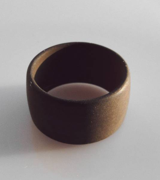 1 Polaris Fingerring 18mm braun