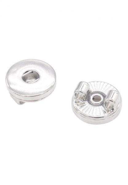 1 Verteiler für Double Beads Click Druckknopf silber/platin 21074