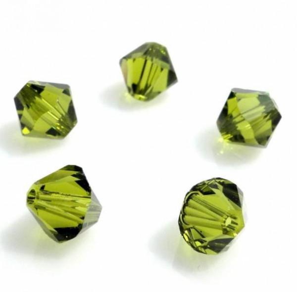 1 Original Swarovski Kristall 6mm Olivine