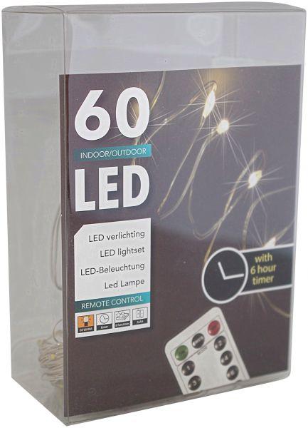 60er draht lichterkette timer fernbedienung f r au en und innen batteriebetrieben warmwei led. Black Bedroom Furniture Sets. Home Design Ideas