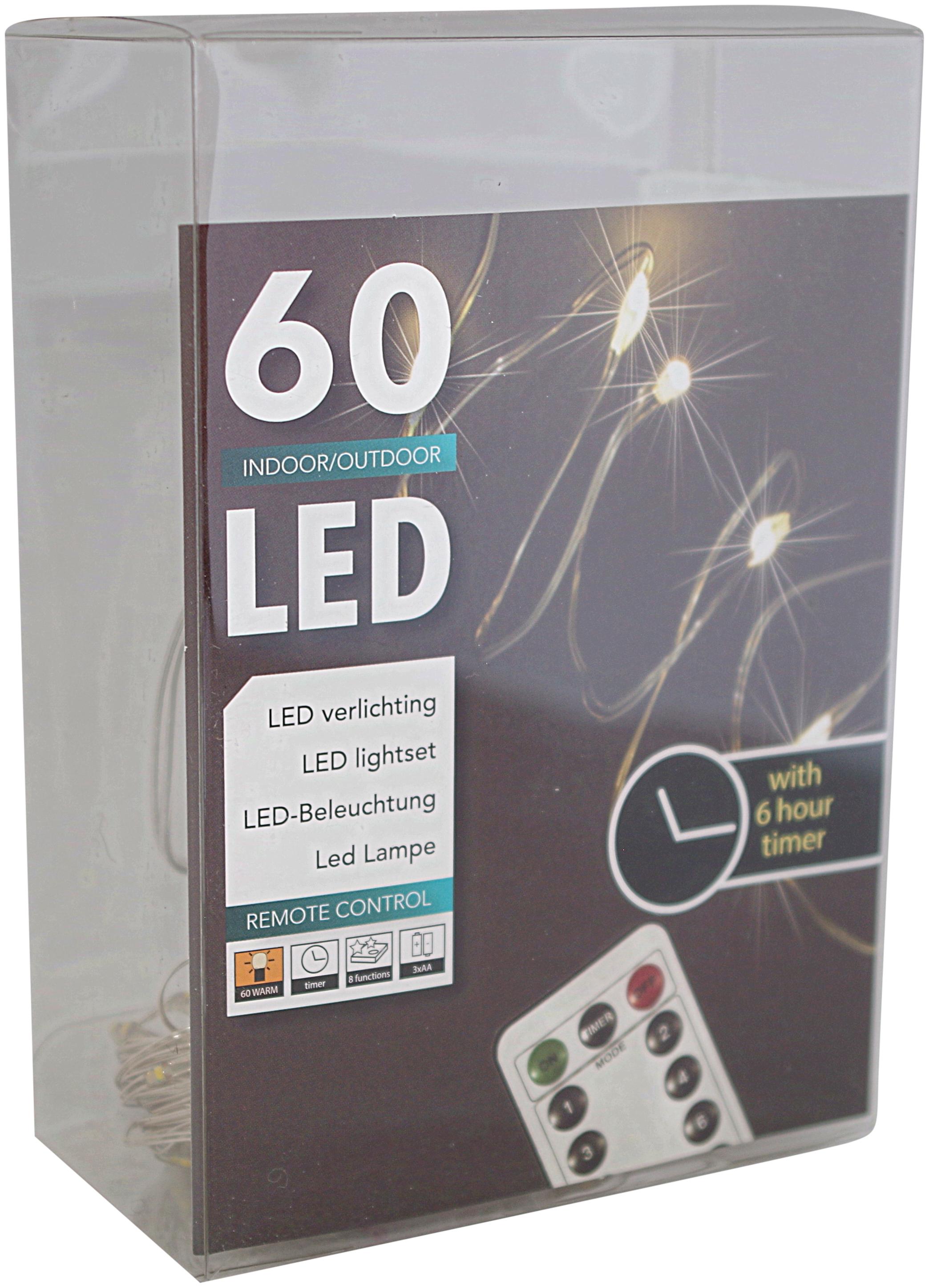 LED Lichterkette mit Fernbedienung: Bei | Dekotrend24