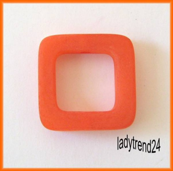 1 Polaris Quadrat 20x20mm orange matt