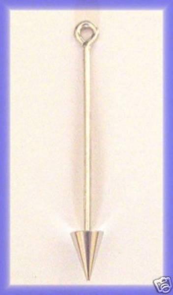 1 Wechselstab für Anhänger Kettelstift 40mm Spitze 4911