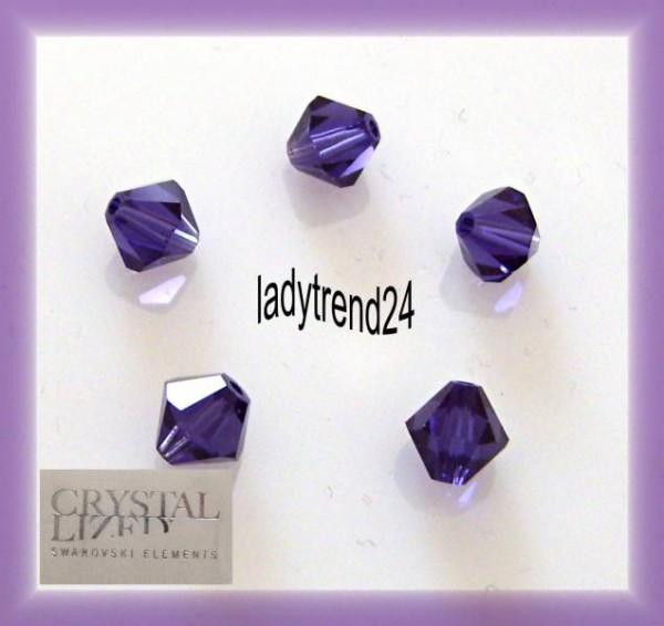 1 Original Swarovski Kristall 6mm purple velvet 277