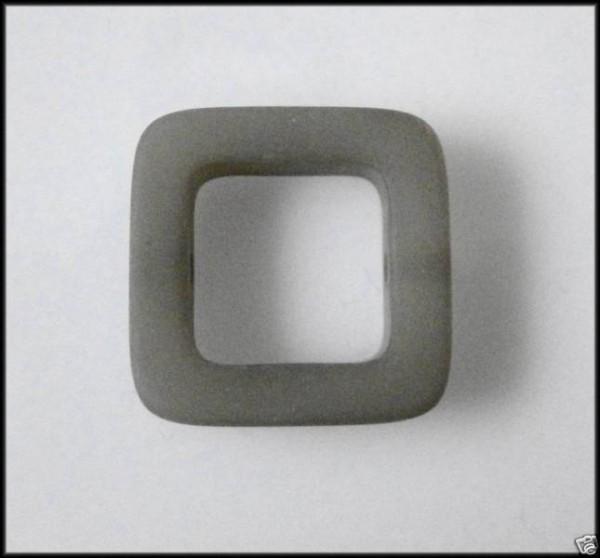 1 Polaris Quadrat 20x20mm grau matt